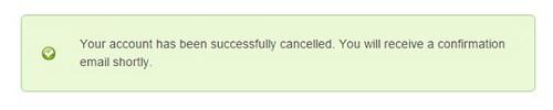 Homestead - Account Cancellation