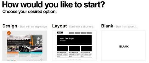 Webydo design options