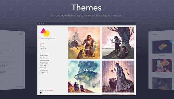 Carbonmade themes