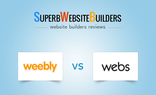 Weebly vs Webs