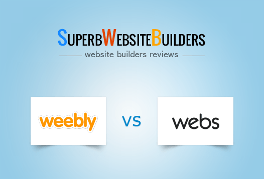 Weebly vs Webs