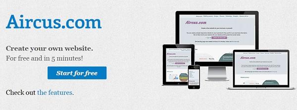 Aircus Homepage