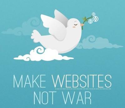 Make Websites, not War