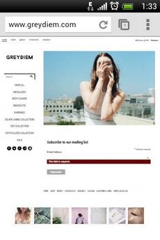 MadeFreshly example website