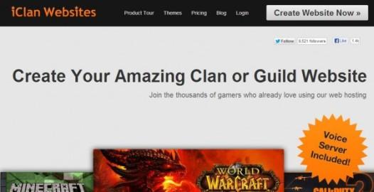 iClanWebsites Homepage