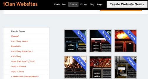 iClanWebsites themes