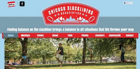 Wix Sample Site - Chicago Slackliners Association