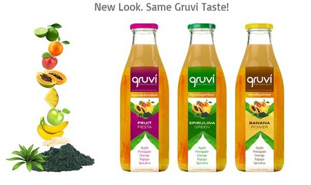 Wix Website Examples - Gruvi Juices