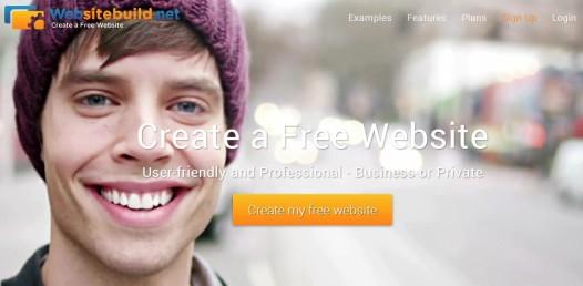 Websitebuild.net - Frontpage