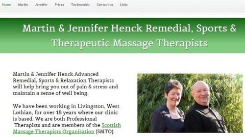 Henck Massage - Yola Example Website