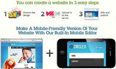 MotoCMS - 3 Steps to Create a Website