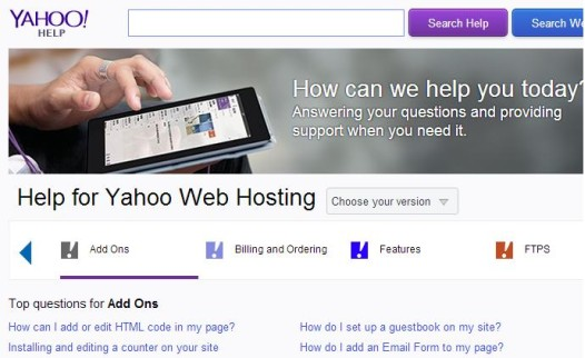 Yahoo site builder review by howard steele last for Yahoo sitebuilder templates