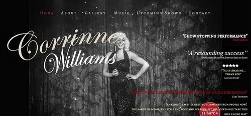 Yola Example Website - Corrine Willians