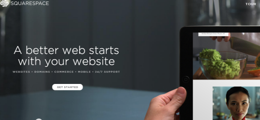 Squarespace - New Homepage