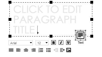 Webydo - Content Editing