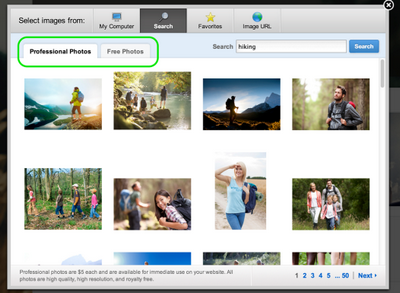 Weebly - Spring Stock Photos Update