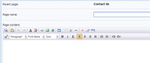 uCoz - Page Editor