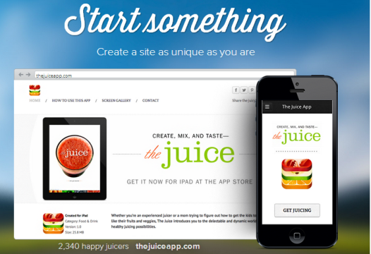 Weebly - Start Something