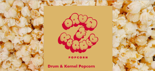 Drum and Kernel Popcorn - Flavorsme Website Example