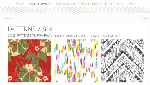 Oli Ola Studio - Flavorsme Website Example