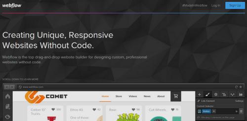 Webflow - Homepage