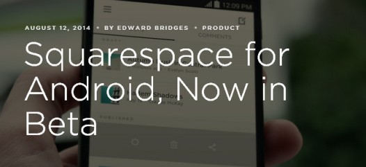 Squarespace for Android