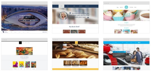 WebsiteBuilder - Templates