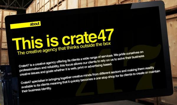 Crate47 - Moonfruit-Driven Website Example
