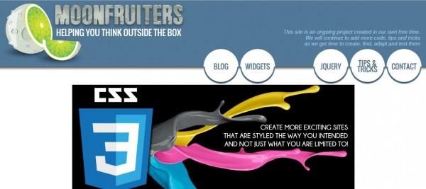 Moonfruiters - Homepage