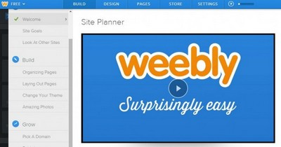 Weebly - Site Planner