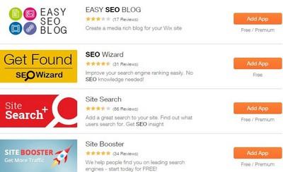 Wix - SEO Apps