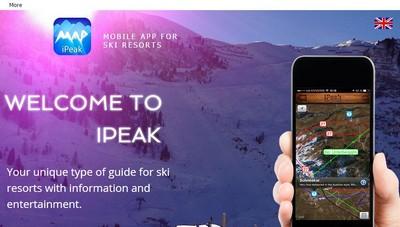 iPeak - Wix Website Example