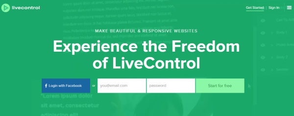 LiveControl - Homepage