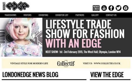 LondonEdge - Webydo example website