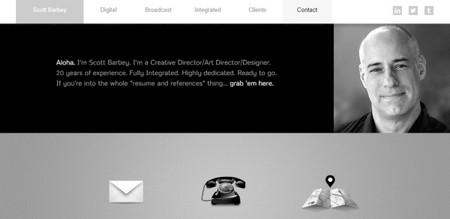 Scott Barbey - Webydo example website