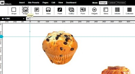 Webydo - Insert an Image