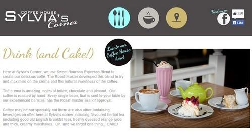 Moonfruit Example Website - Sylvia's Corner
