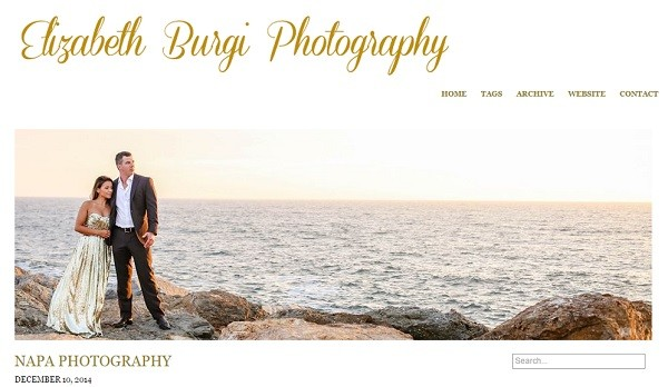 Pixpa Example Website