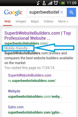 SuperbWebsiteBuilders - Mobile Label