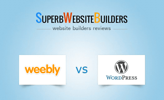 Weebly vs WordPress | Head-to-Head Comparison