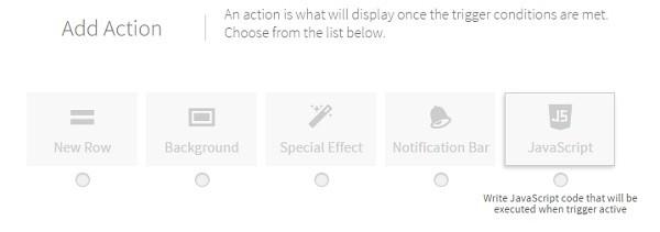 Duda JavaScript Action