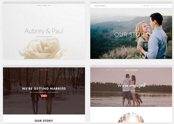 the best website builders to create a wedding website