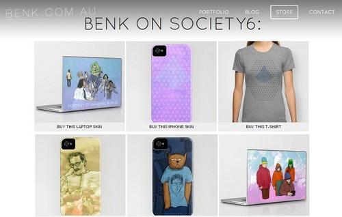 Weebly portfolio example - Benk