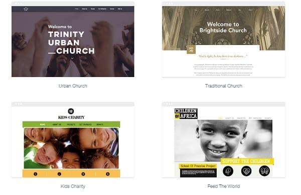 Wix Church Website Templates