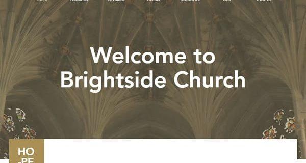Wix Church Website
