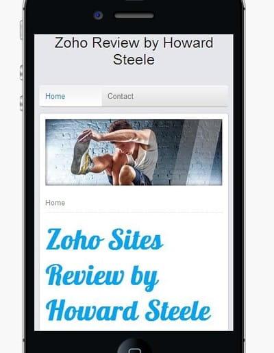 Zoho Mobile View