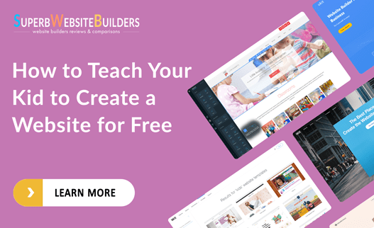How to Teach Your Kid to Create a Website for Free
