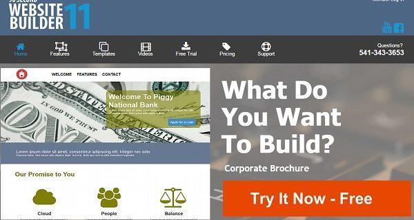 90 Second Website Builder Featured
