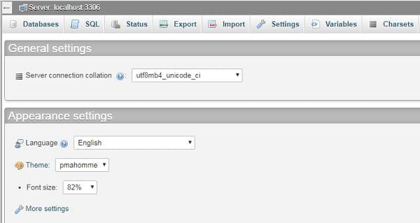 CMS - Install Database