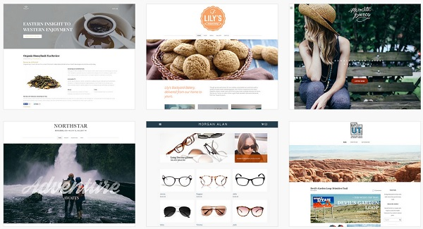 new Weebly themes